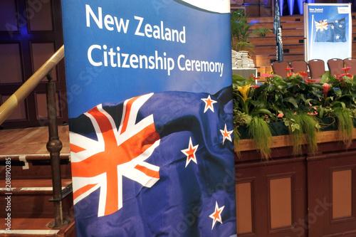 Poster Oceanië New Zealand Citizenship Ceremony in Auckland New Zealand