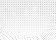 Light Halftone Futuristic Dot Background