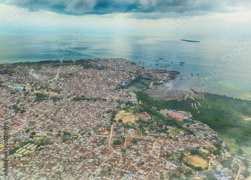 Fotobehang Zanzibar Zanzibar from Above (aerial views)