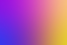 Blurred Soft Purple And Yellow Gradient Colorful Light Shade Background