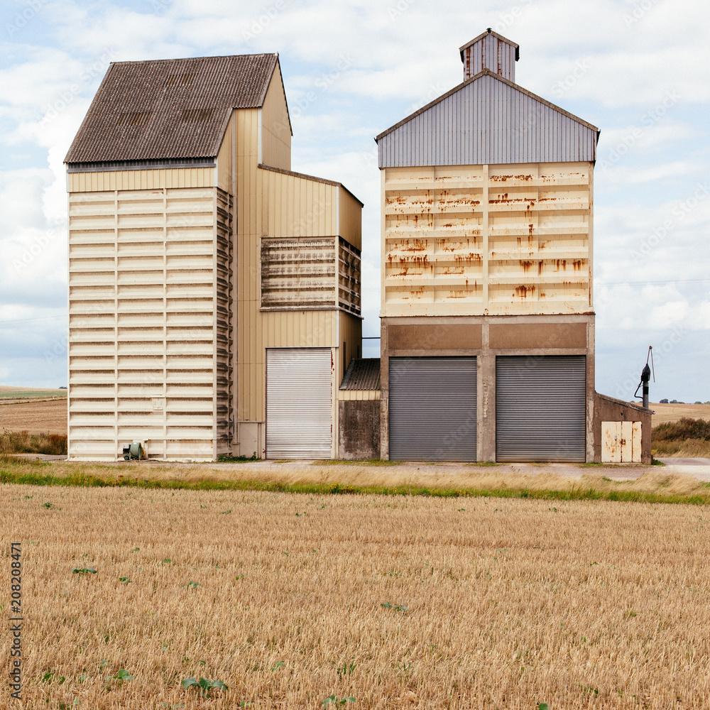 Fototapety, obrazy: Granery in France