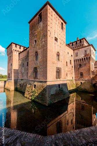 Keuken foto achterwand Historisch geb. Gonzaga Saint George Castle - italian landscape and travel destinations - Mantua italy