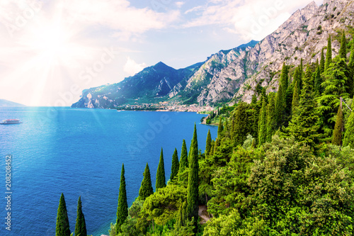 Lake Garda. Italy Canvas