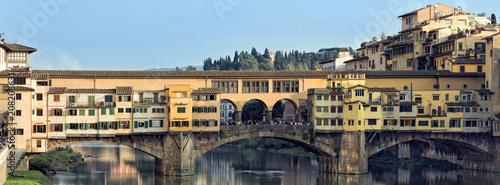 Keuken foto achterwand Historisch geb. Ponte Vecchio Florenz Italien