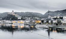 Cochem Panorama An Der Mosel D...