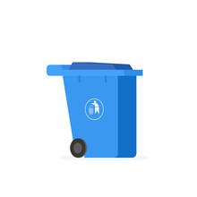 Plastic Wheelie Refuse Waste Bin
