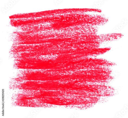 Unordentliche Kreidestriche rot © kebox