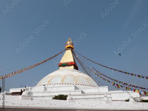 Staande foto Nepal Bodnath Népal