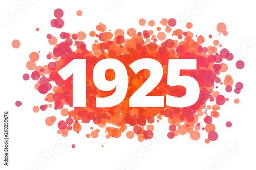 Fotografia  Jahr 1925 - dynamische rote Punkte
