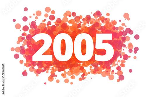 Fotografia  Jahr 2005 - dynamische rote Punkte