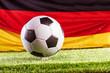 canvas print picture Fußball Hintergrund