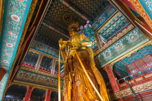 Giant Buddha In Lama Yonghe Te...