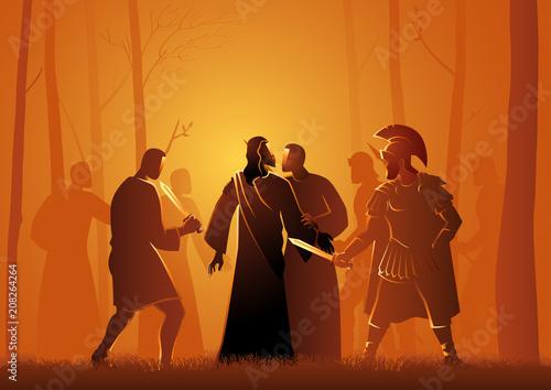 Slika na platnu Kiss of Judas