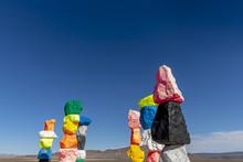 Seven Magic Mountains Sculptur...