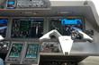 cockpit place copilote jet privé