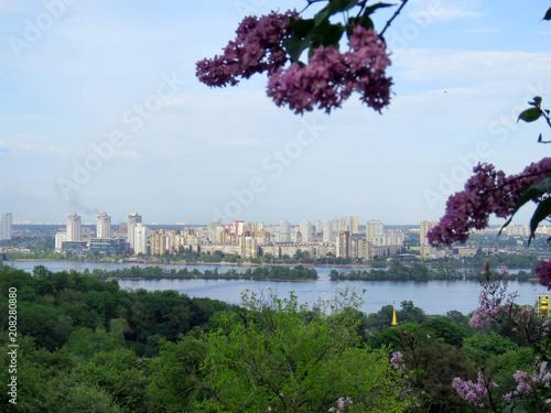Foto op Plexiglas Kiev views of Kiev from botanical garden