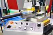Control panel automatic band saw machine