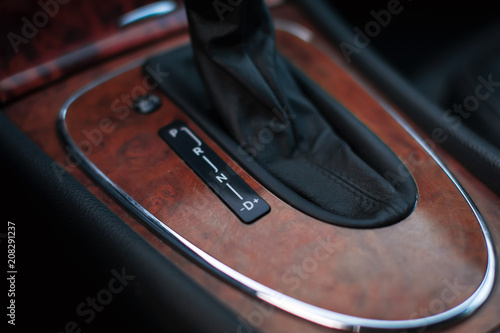 Car Interior Decorate Wood Automatic Transmission Gear