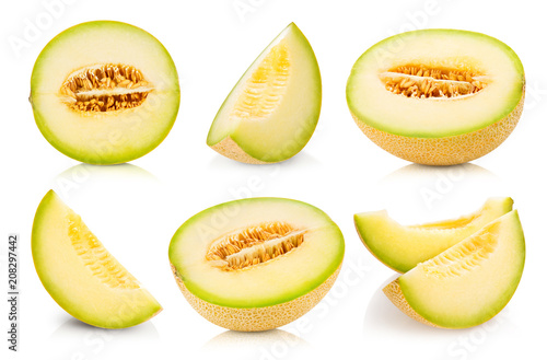 melon fruits collection