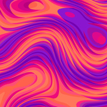 Abstract Vector Pattern. Curve...
