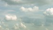 Timelapse sunny clouds