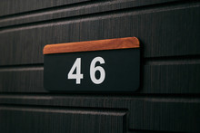 House Number Forty Six 46 On B...