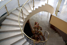 Marble Spiral Stair