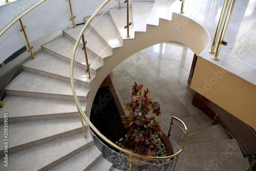 Valokuva  Marble spiral stair