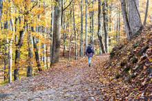 Hiking Trail In Harper's Ferry...