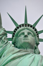 Statue Of Liberty New York, Close Up