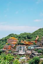 Chuen Ji Hall Temple And Jinguashi Old Town In Taiwan