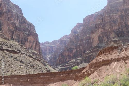 In de dag Zalm Grand Canyon Arizona