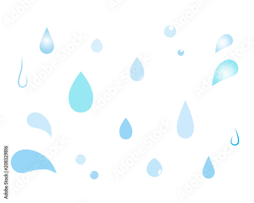 Fotografering  水滴1