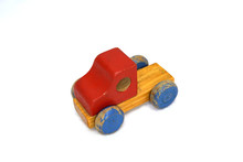 Baby Car Colorful Wood Vintage...
