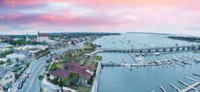 Aerial View Of St Augustine Fr...
