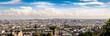 Panorama Blick auf Paris vom Montmartre