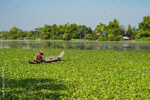 Fototapeta premium Kambodża - Siem Reap - Krajobraz na wschód od Siem Reap