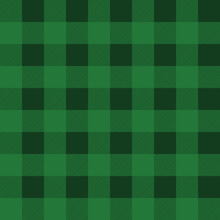 Checkered Country Green Pattern.