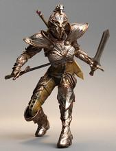 3D Illustration Science Fiction Warrior