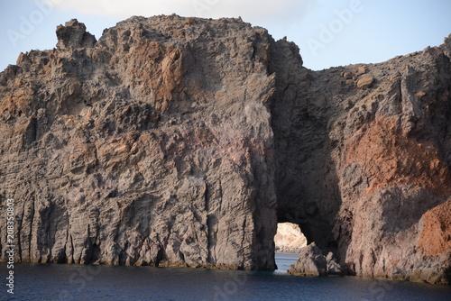 Fotobehang Kust Küste bei Lipari