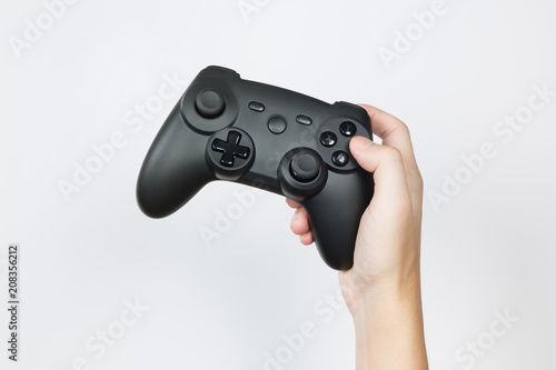 Play game with a joystick