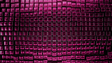 3D Render Background From The Pink Squares