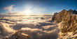 sea of clouds alps