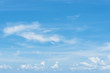 panorama clear blue sky background,clouds with background.