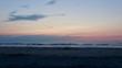 Sonnenuntergang am Meer, Strandpanorama bei Sonnenuntergang