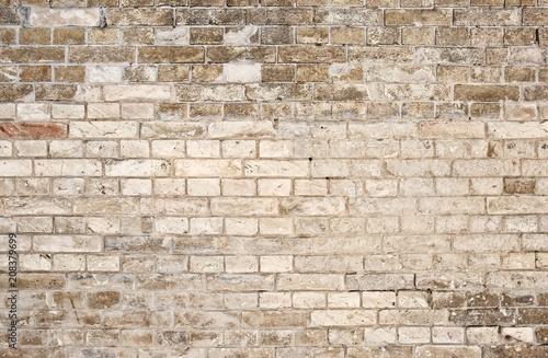 Foto op Aluminium Stenen Texture of old brick wall as background