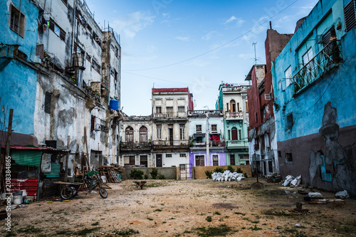 Havana street Canvas-taulu