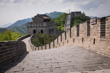 Panoramic View Of Great Wall O...