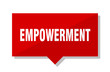 empowerment red tag
