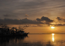 Shrimp Boat Sunrise